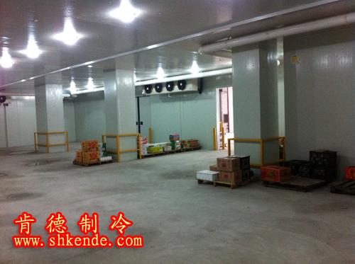 <b>上海欧宝体育平台介绍承建的百果园上海水果物流储藏欧宝体育平台官方项目完工</b>