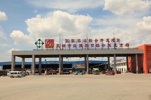 天津最大存量单体冷库王顶堤红旗农贸综合批发市场