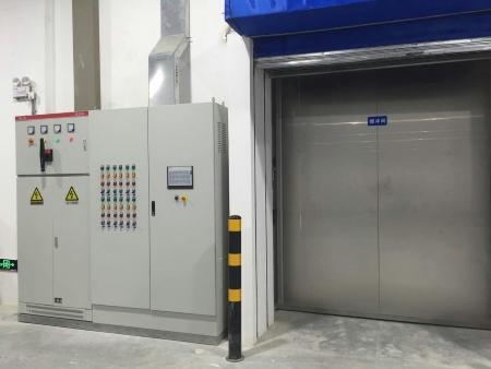 肯德制冷承建的苏州大型医药冷库设备图片