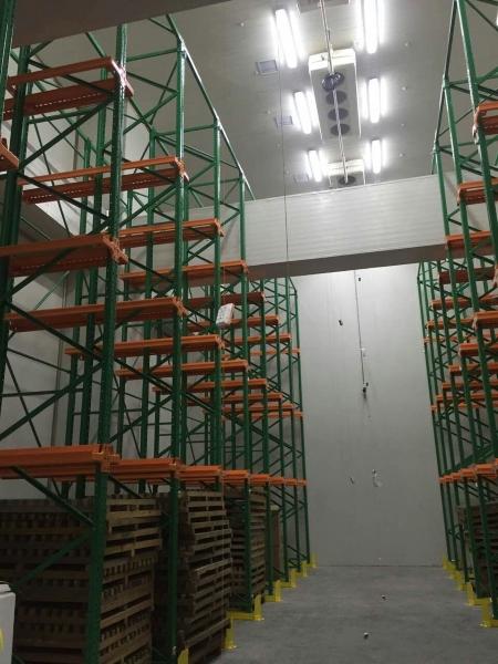 肯德制冷承建的苏州大型医药冷库内部图片